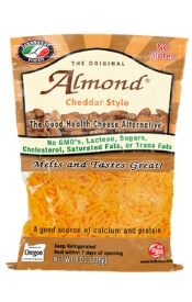 almond cheese for gluten free pizza