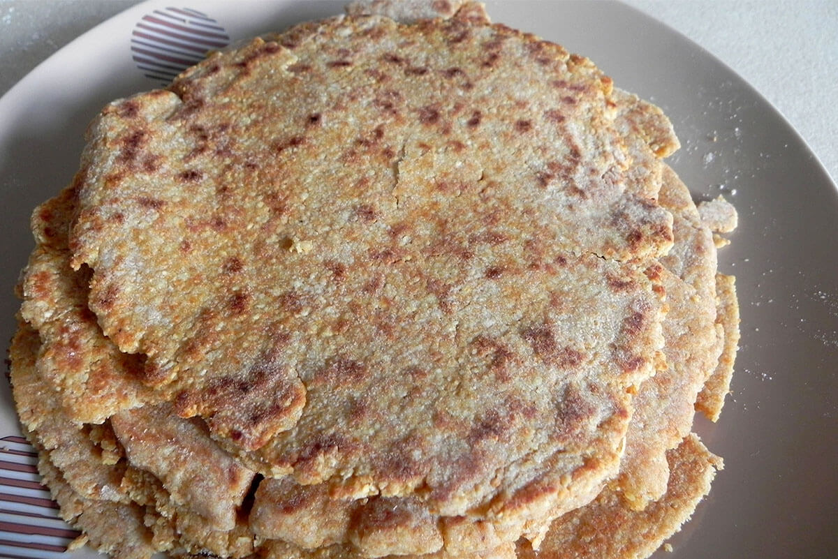 pita bread from ancient Rome