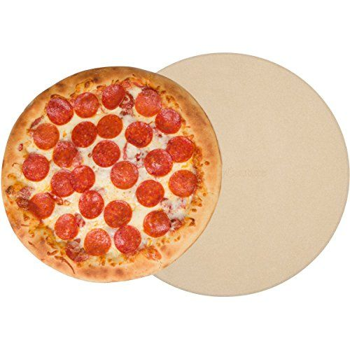 7 Culinary Couture 15-inch Pizza Stone for Grilling and Oven Baking