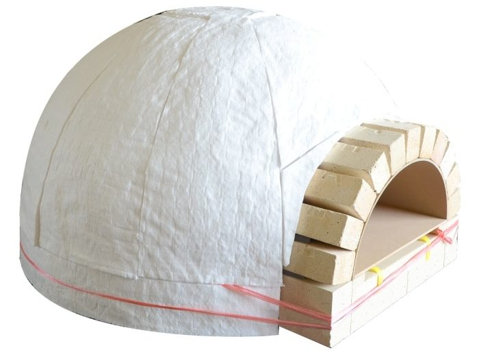 insulation of pizza oven
