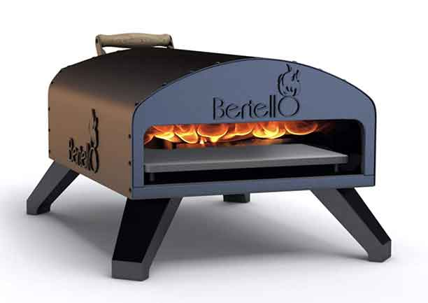 3-Napoli Bertello Wood Fire and Gas Outdoor Pizza Oven