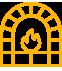 brick oven icon