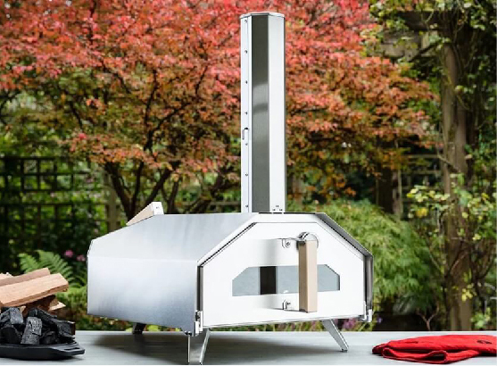 ooni oven outside