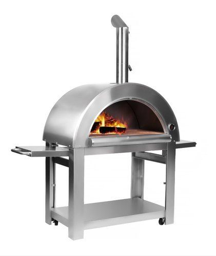 Thor Wood Fired Stainless Steel Artisan Pizza Oven or Grill Outdoor or Indoor