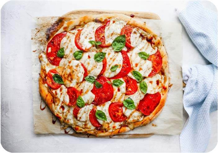how to cook Caprese Pizza
