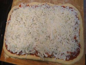 Artisan pizza recipe dough ready to bake 1