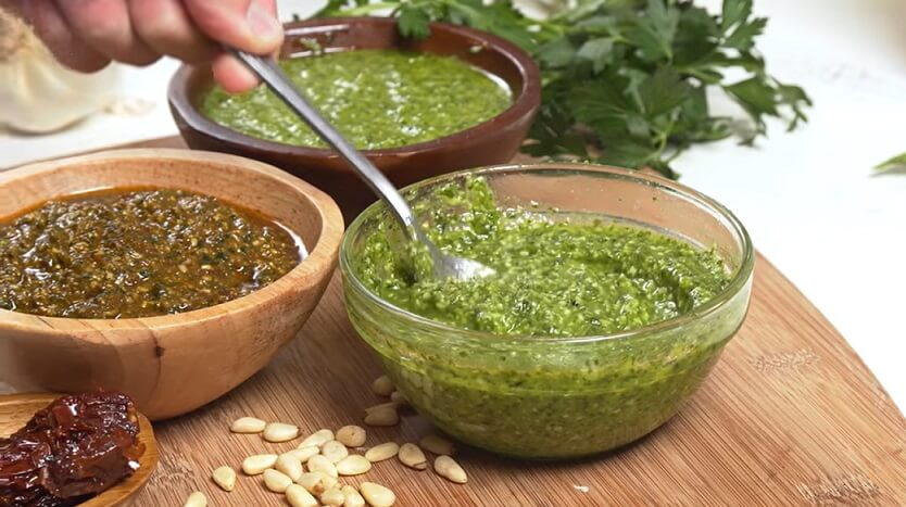 Paleo Pesto sauce recipe